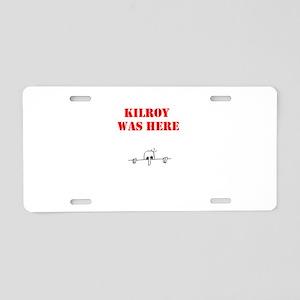 KILROY Aluminum License Plate