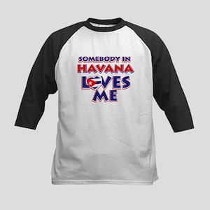 Havana Design Baseball Jersey