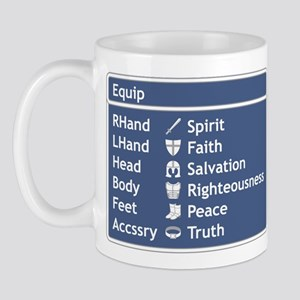 Armor of God Equip Screen Mug