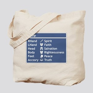 Armor of God Equip Screen Tote Bag
