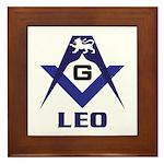 Masonic Leo Framed Tile
