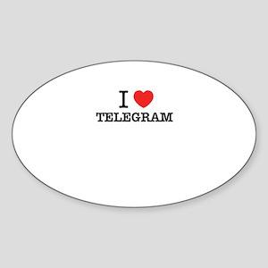 I Love TELEGRAM Sticker