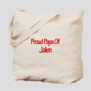 Proud Papa of Jalen Tote Bag