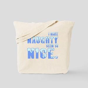 Naughty Nice Tote Bag