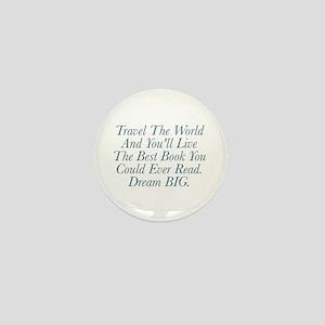 Live The Best Book Mini Button