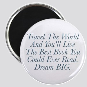 Live The Best Book Magnets