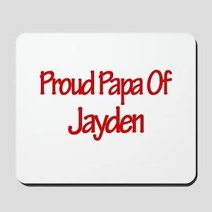 Proud Papa of Jayden Mousepad