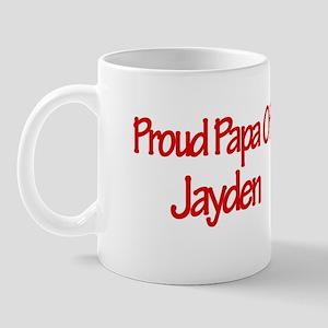 Proud Papa of Jayden Mug