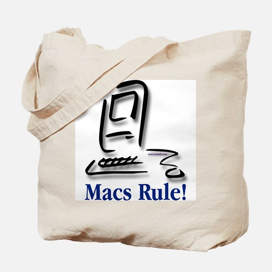 Macs Rule! Tote Bag