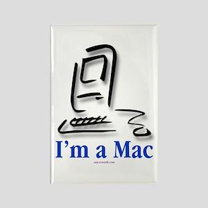 I'm a Mac Rectangle Magnet