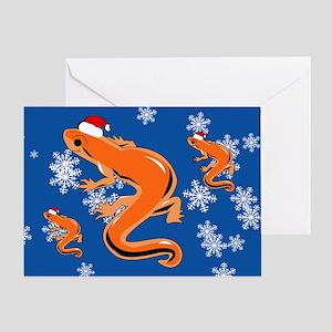 Newt Greeting Card