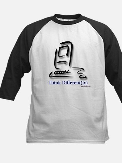 """Think Different(ly)"" Kids Baseball Jersey"
