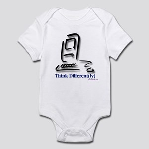 """Think Different(ly)"" Infant Creeper"