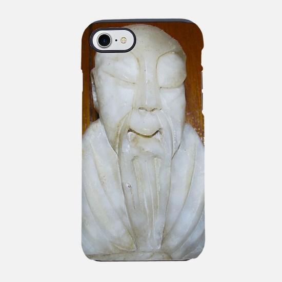 Peaceful Contemplative Monk iPhone 8/7 Tough Case