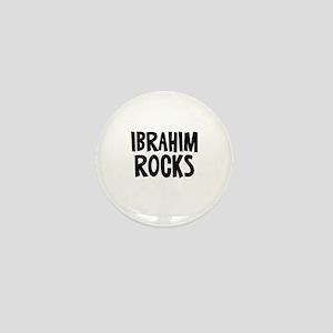 Ibrahim Rocks Mini Button