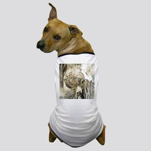 Awesome technical skull Dog T-Shirt