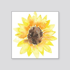 Cute Yellow Sunflower Sticker