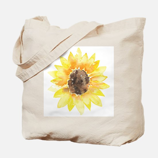 Cute Yellow Sunflower Tote Bag