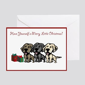 Labrador Christmas Greeting Cards (Pk of 10)