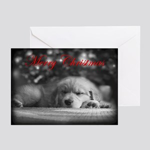 Merry Christmas Golden Retriever Cards