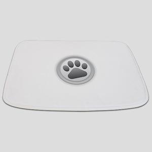 Paw Print Bathmat