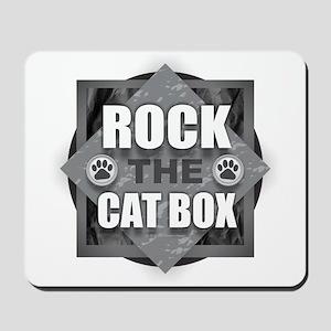 Rock Cat Box Mousepad