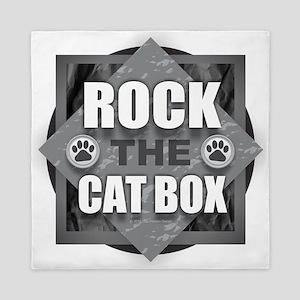 Rock Cat Box Queen Duvet