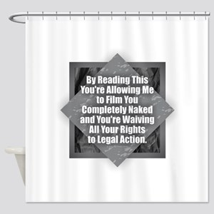 Film Naked Shower Curtain