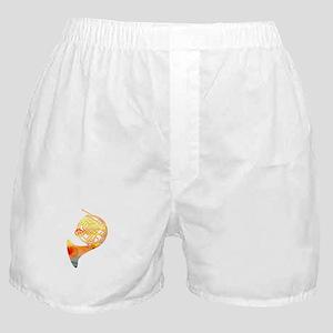 Watercolor Horn Boxer Shorts