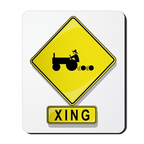 Tractor XING Mousepad