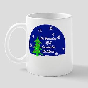 A Cornish Rex Christmas Mug