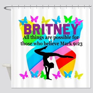 CHRISTIAN GYMNAST Shower Curtain