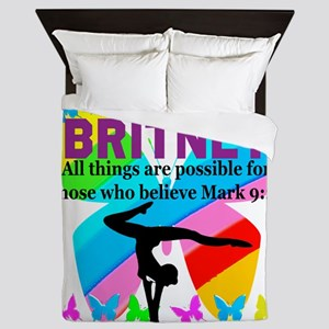 CHRISTIAN GYMNAST Queen Duvet