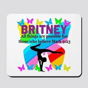 CHRISTIAN GYMNAST Mousepad