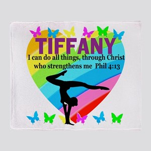 CHRISTIAN GYMNAST Throw Blanket
