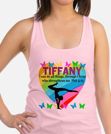 CHRISTIAN GYMNAST Racerback Tank Top