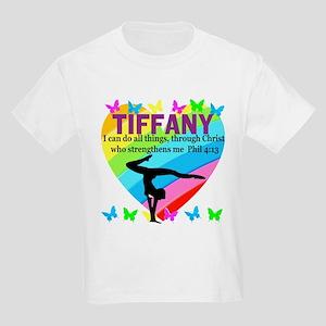CHRISTIAN GYMNAST Kids Light T-Shirt