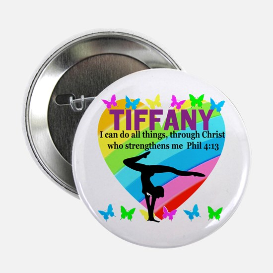 "CHRISTIAN GYMNAST 2.25"" Button"