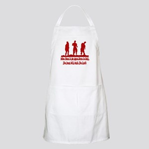 No More Room in Hell BBQ Apron