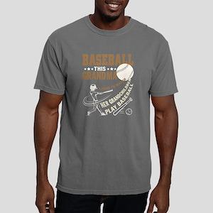 Baseball T Shirt, He Grandchildren Play Ba T-Shirt