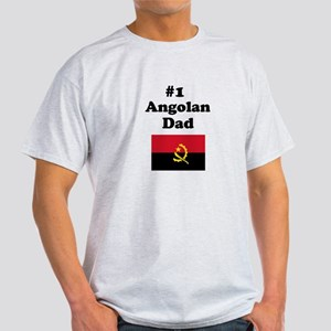 #1 Angolan Dad Light T-Shirt