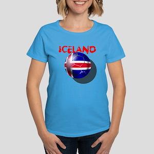 Icelandic Soccer Women's Dark T-Shirt