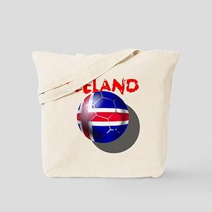 Icelandic Soccer Tote Bag