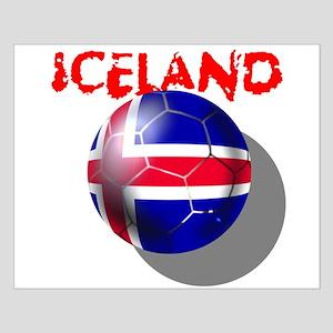 Icelandic Soccer Small Poster
