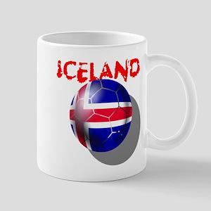 Icelandic Soccer Mug Mugs