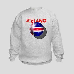 Icelandic Soccer Kids Sweatshirt