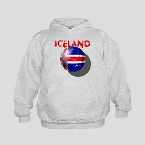 Icelandic Soccer Kids Hoodie