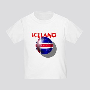 Icelandic Soccer Toddler T-Shirt