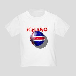 Icelandic Soccer Toddler T-Shirt