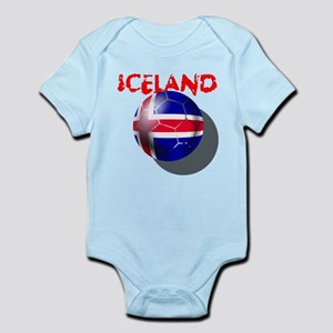 Icelandic Soccer Infant Bodysuit